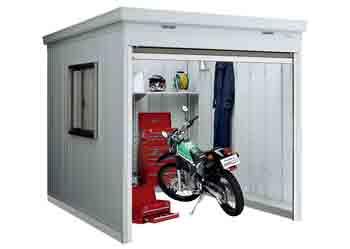 格安バイク保管庫